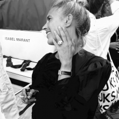 Isabel Marant wering the Colette ring by Pit Bomans