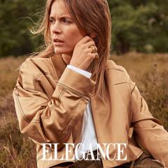 Hanna Verboom for ELEGANCE magazine - Pit Bomans